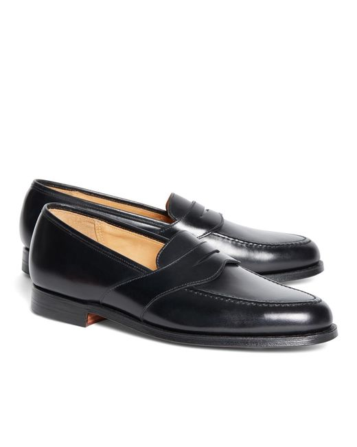 Brooks Brothers - Black Peal & Co.® Penny Loafers for Men - Lyst