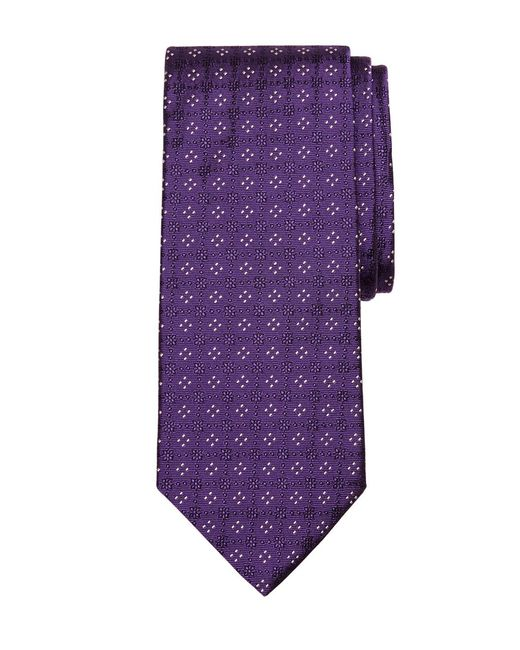 Brooks Brothers | Purple Four-dot Tie for Men | Lyst
