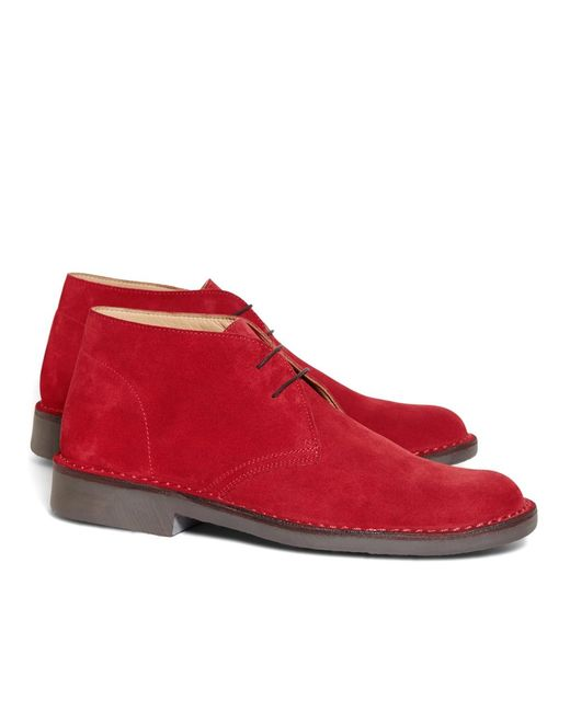 Brooks Brothers - Red Field Chukka Boots for Men - Lyst