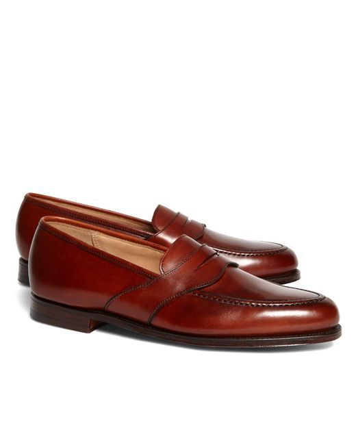 Brooks Brothers - Purple Peal & Co.® Extended Strap Loafers for Men - Lyst