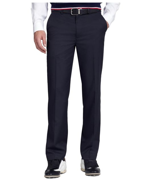 Brooks Brothers | Blue St Andrews Links Plain-front Pants for Men | Lyst