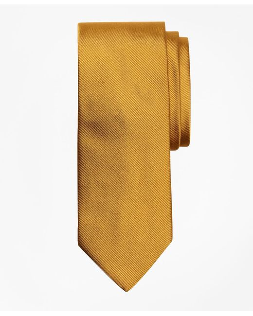 Brooks Brothers - Metallic Solid Rep Tie for Men - Lyst