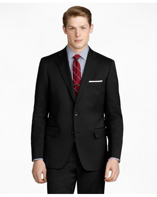 Brooks Brothers - Black Regent Fit Solid 1818 Suit for Men - Lyst