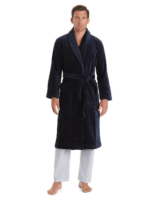 Brooks Brothers - Blue Supima® Robe for Men - Lyst