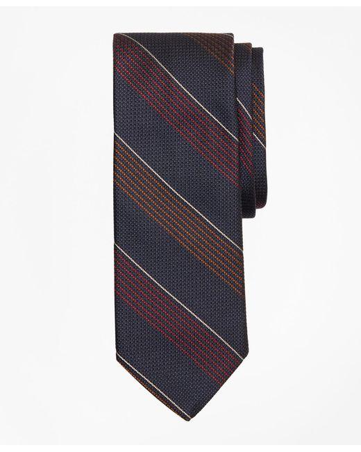 Brooks Brothers - Blue Sidewheeler Stripe Tie for Men - Lyst