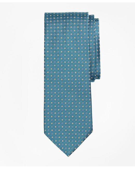 Brooks Brothers - Blue Alternating Squares Tie for Men - Lyst