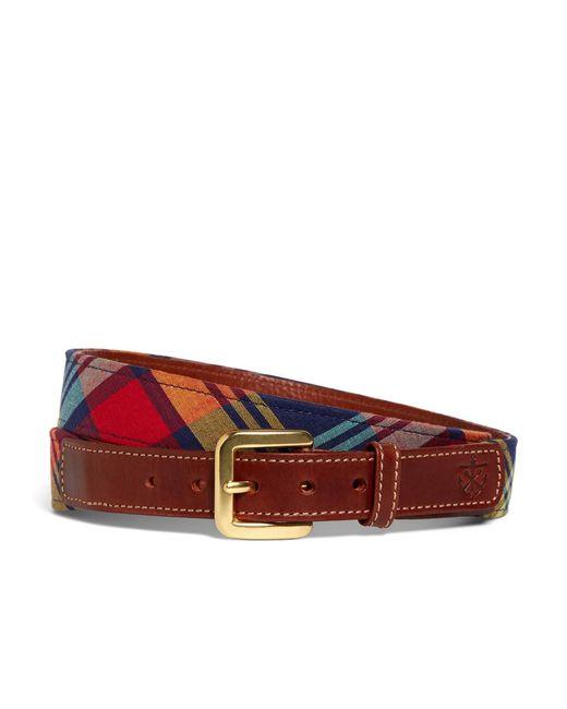 Brooks Brothers   Multicolor Kiel James Patrick Bright Madras Belt for Men   Lyst