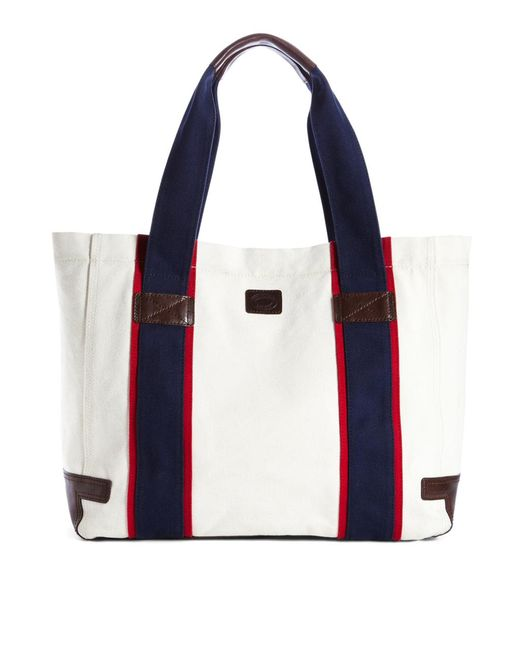 Brooks Brothers | White Prep Tote | Lyst