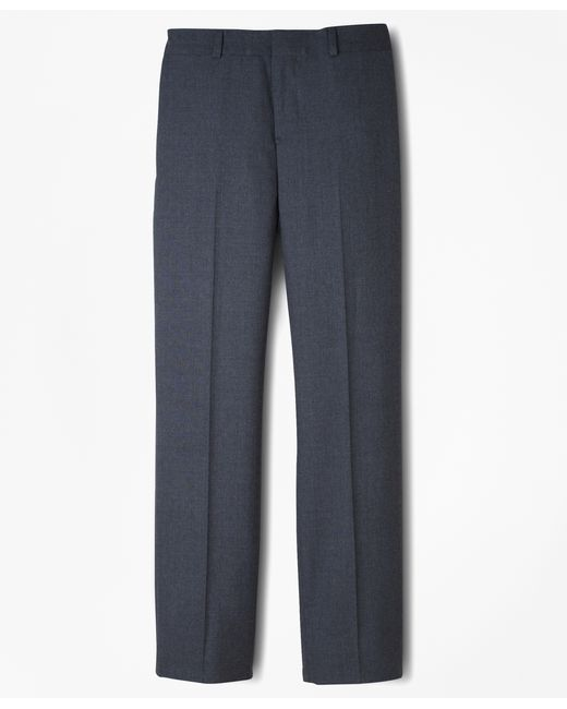 Brooks Brothers | Gray Brooksease Junior Plain-front Dress Trousers | Lyst