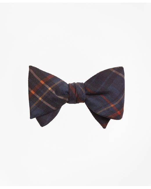 Brooks Brothers   Blue Ancient Madder Plaid Print Bow Tie for Men   Lyst