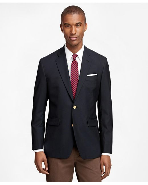 Brooks Brothers | Blue Milano Fit Two-button Classic 1818 Blazer for Men | Lyst