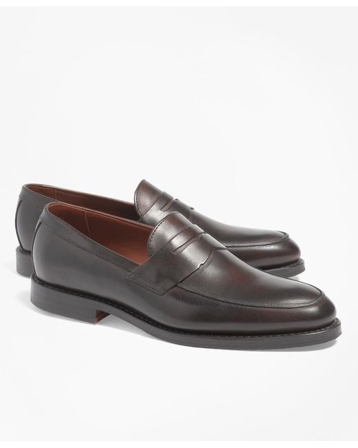 Brooks Brothers | Brown Penny Loafers for Men | Lyst