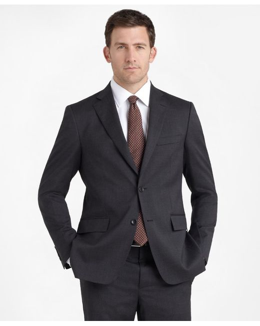 Brooks Brothers | Gray Regent Fit Solid 1818 Suit for Men | Lyst