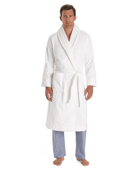 Brooks Brothers | White Supima® Robe for Men | Lyst