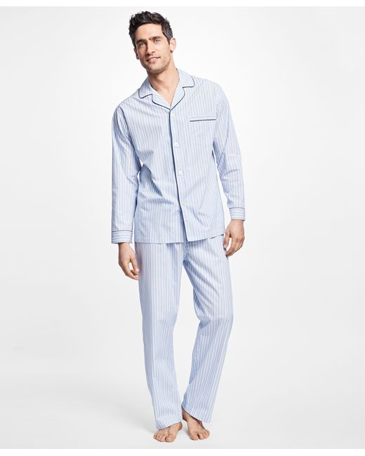 Brooks Brothers | Blue Multi-music Stripe Pajamas for Men | Lyst
