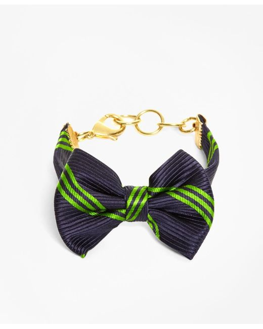 Brooks Brothers | Blue Bow Tie Bracelet By Kiel James Patrick | Lyst