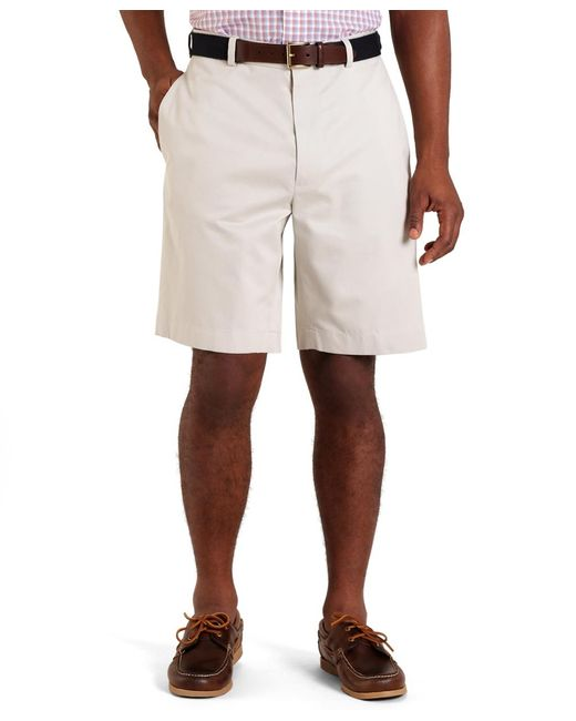 Brooks Brothers | Natural Plain-front Lightweight Advantage Shorts for Men | Lyst