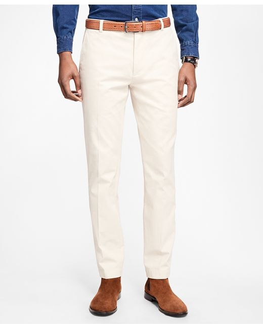 Brooks Brothers | Multicolor Milano Fit Supima® Cotton Stretch Chinos for Men | Lyst