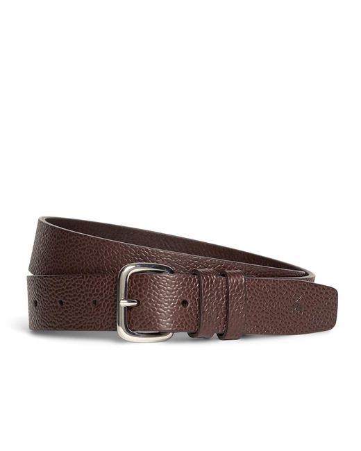 Brooks Brothers | Brown Harrys Of London® Scotch Grain Leather Belt for Men | Lyst