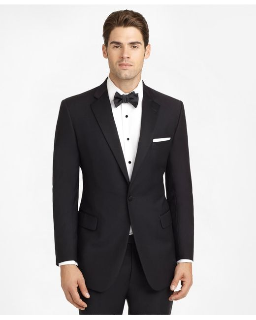 Brooks Brothers   Black Ready-made Regent Fit Tuxedo Jacket for Men   Lyst