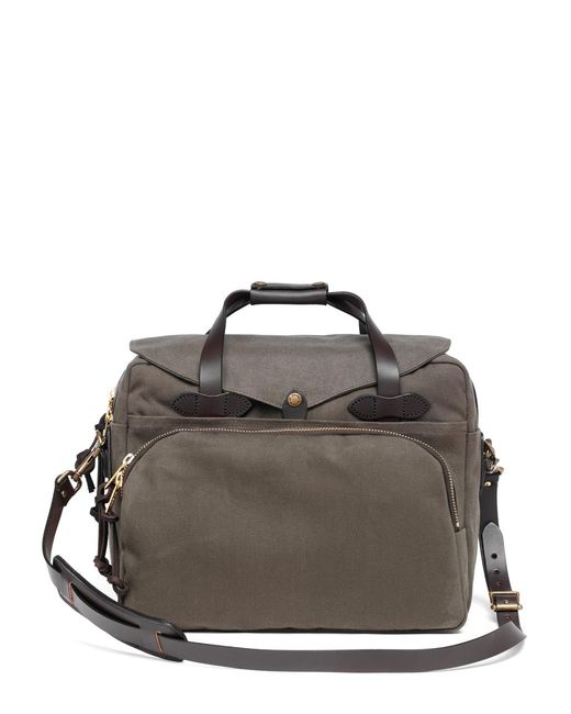 Brooks Brothers | Green Filson® Twill Padded Computer Bag for Men | Lyst