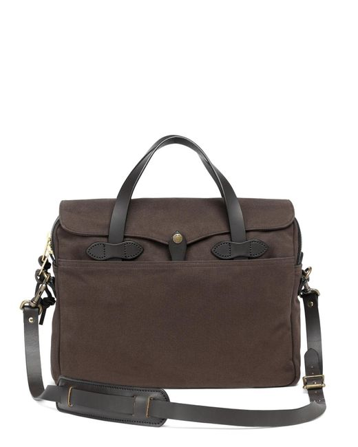 Brooks Brothers | Brown Filson® Twill Original Briefcase for Men | Lyst