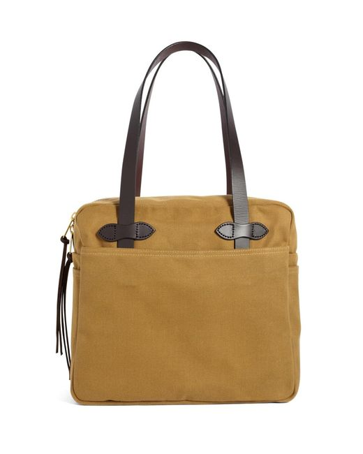 Brooks Brothers | Brown Filson® Medium Zippered Tote Bag | Lyst