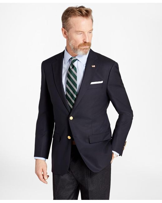 Brooks Brothers - Blue Madison Fit Two-button 1818 Blazer for Men - Lyst