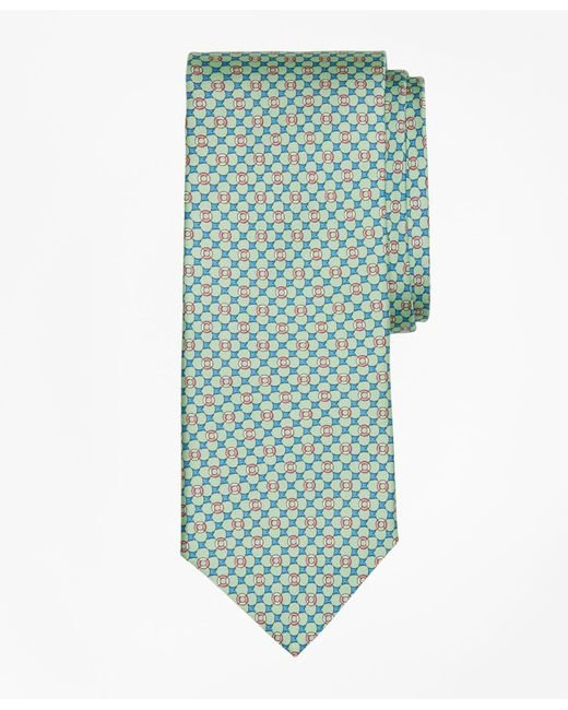 Brooks Brothers | Green Flag And Raft Print Tie for Men | Lyst