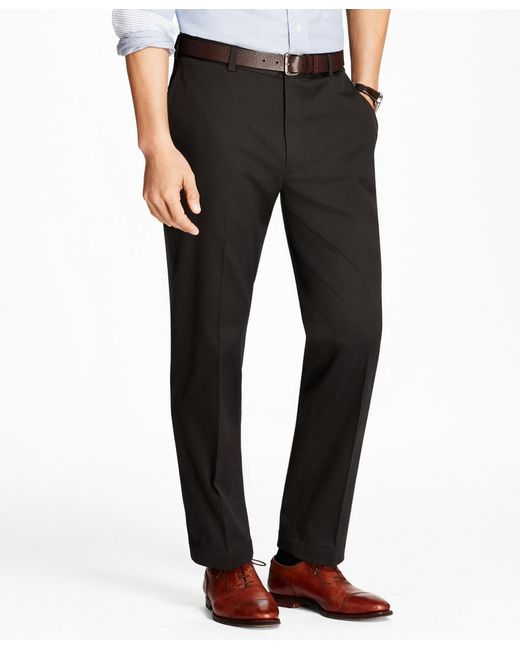 Brooks Brothers - Black Clark Fit Lightweight Stretch Advantage Chinos® for Men - Lyst