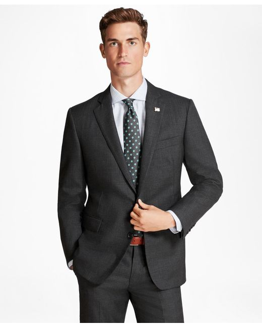 Brooks Brothers - Gray Golden Fleece® Regent Fit Micro-plaid Suit for Men - Lyst