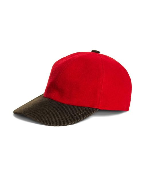 Brooks Brothers | Red Baseball Cap for Men | Lyst