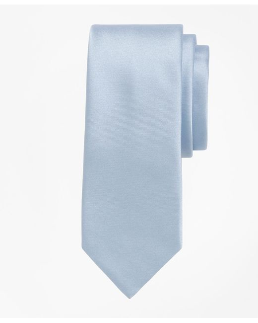 Brooks Brothers - Blue Formal Satin Slim Tie for Men - Lyst