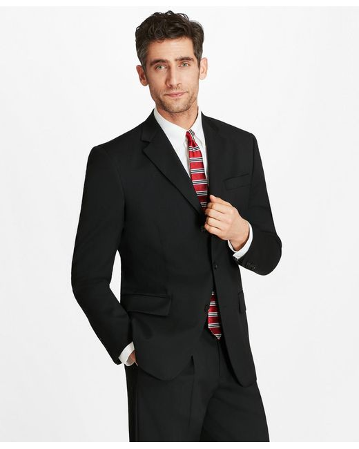 Brooks Brothers - Black Madison Fit Three-button 1818 Suit for Men - Lyst