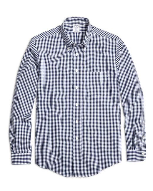Brooks Brothers - Blue Regent Slim Fit Woven Shirt for Men - Lyst