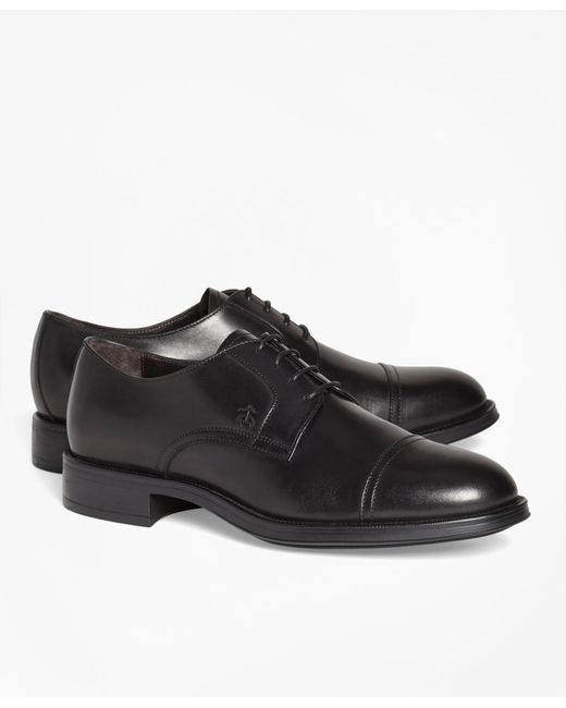 Brooks Brothers - Black 1818 Footwear Leather Captoes for Men - Lyst