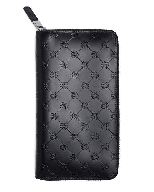 Brooks Brothers   Black Golden Fleece® Embossed Travel Wallet for Men   Lyst
