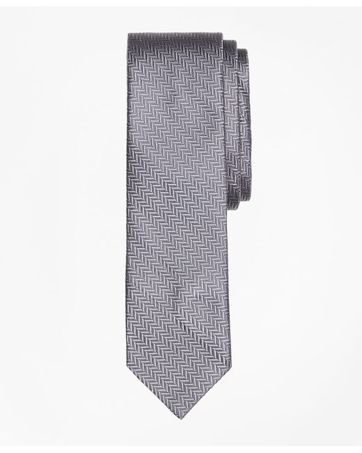 Brooks Brothers | Gray Silk Tie for Men | Lyst