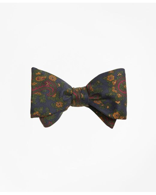 Brooks Brothers | Blue Ancient Madder Paisley Print Bow Tie for Men | Lyst
