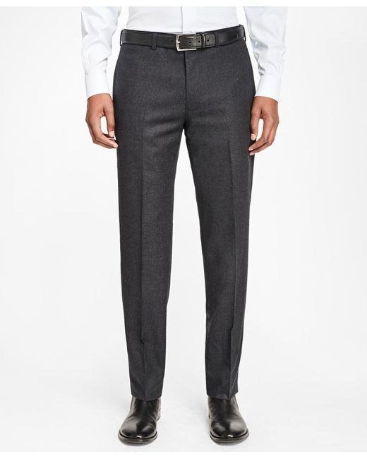 Brooks Brothers - Multicolor Milano Fit Stretch Flannel Trousers for Men - Lyst