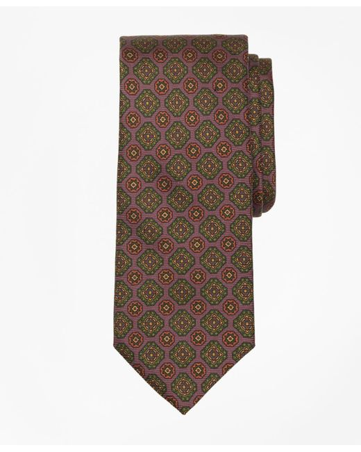 Brooks Brothers - Purple Ancient Madder Medallion Tie for Men - Lyst