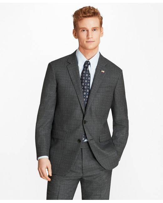 Brooks Brothers - Gray Milano Fit Grey 1818 Suit for Men - Lyst