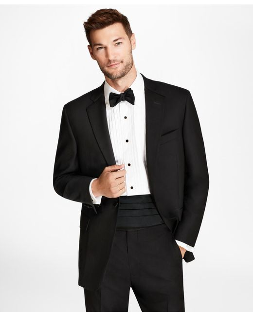 Brooks Brothers - Black Regent Fit One-button 1818 Tuxedo for Men - Lyst