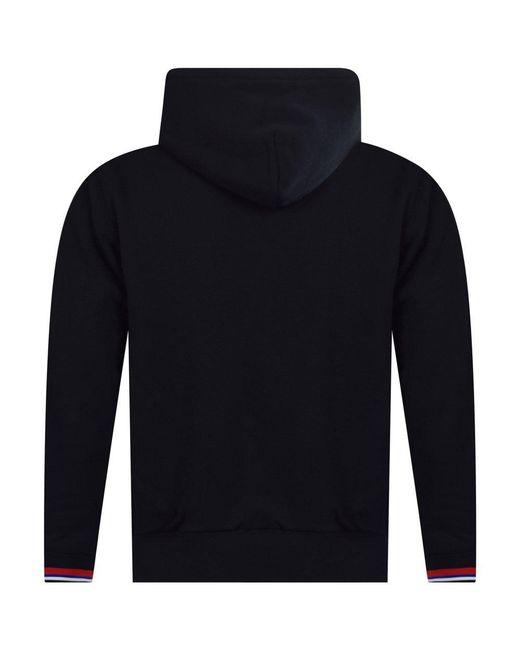 4e7d1d4c9 ... Polo Ralph Lauren - Black Logo Zip Fleece Hoodie for Men - Lyst ...