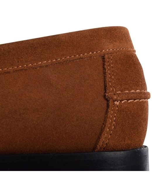 9e15b3b848d2 ... THOMAS FINLEY - Brown Tan Suede Loafers for Men - Lyst ...