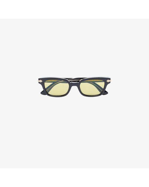 e48c974fc52b Gucci Black Acetate Yellow Lens Sunglasses in Black for Men - Lyst