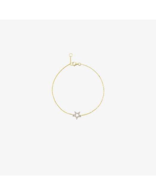 Rosa De La Cruz - Metallic Diamond Star Charm Bracelet - Lyst