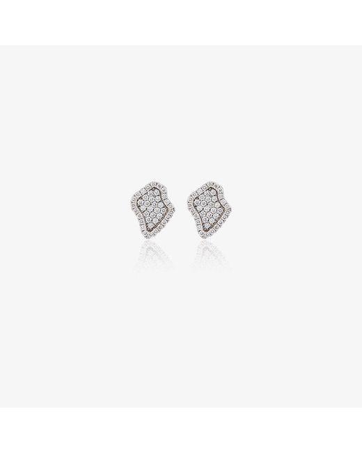 Kimberly Mcdonald | Metallic Diamond Encrusted Stud Earrings | Lyst