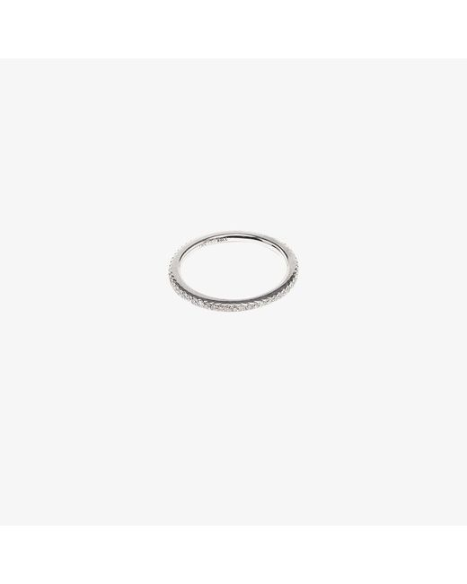 Rosa De La Cruz | 18k White Gold & Diamond Midi Ring | Lyst