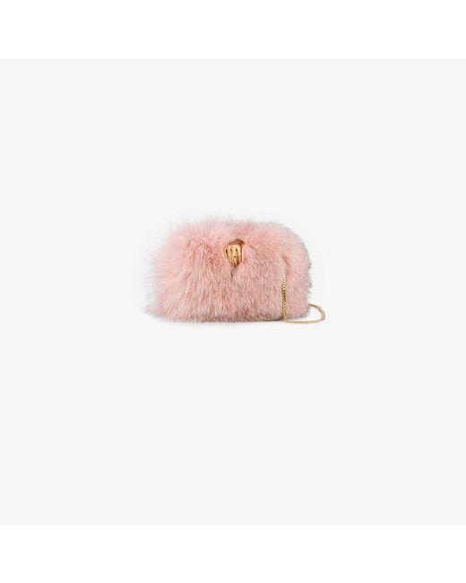 Benedetta Bruzziches   Pink Carmen Hand Clasp Bag   Lyst